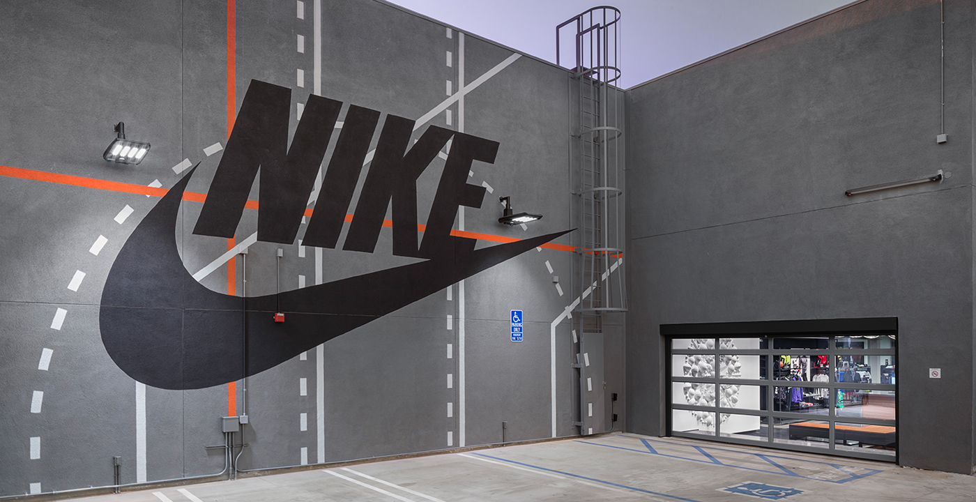 Store Metal Nike Community Stores Tether