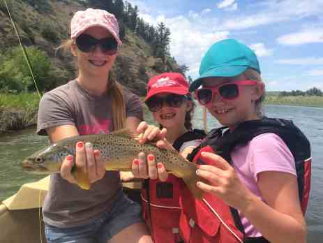 These girls love to fly fish