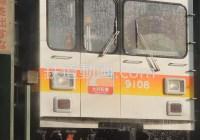列車番号RM9367 「洗う 東急電鉄長津田検車区洗浄機」
