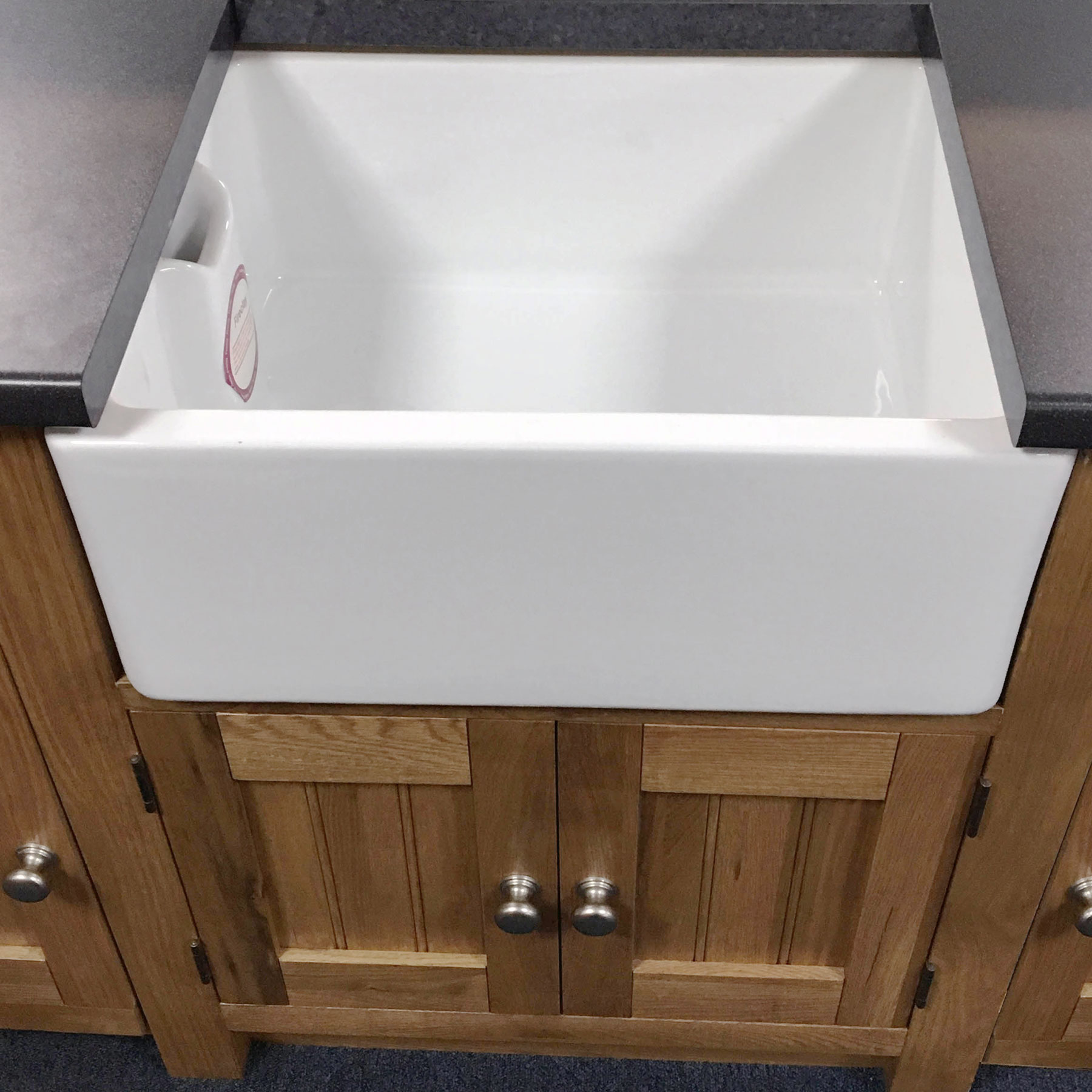Ceramic Kitchen Sink Rak 600 Belfast Butler Gourmet Reversible Ceramic Kitchen