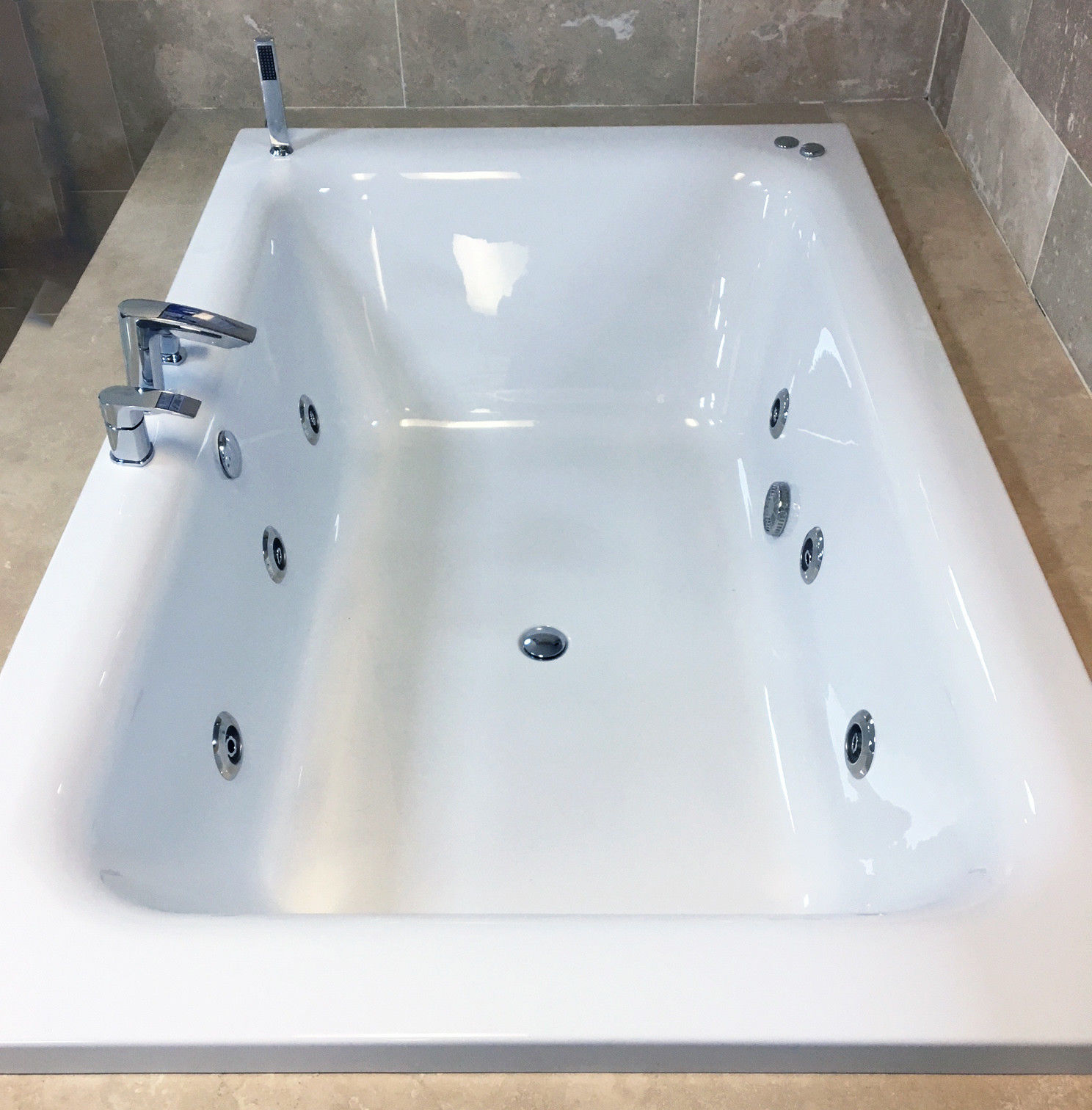 Jacuzzi Whirlpool Details About Olena 1900 X 1200mm Luxury Large Bath Whirlpool Jacuzzi Type Spa Jets Option