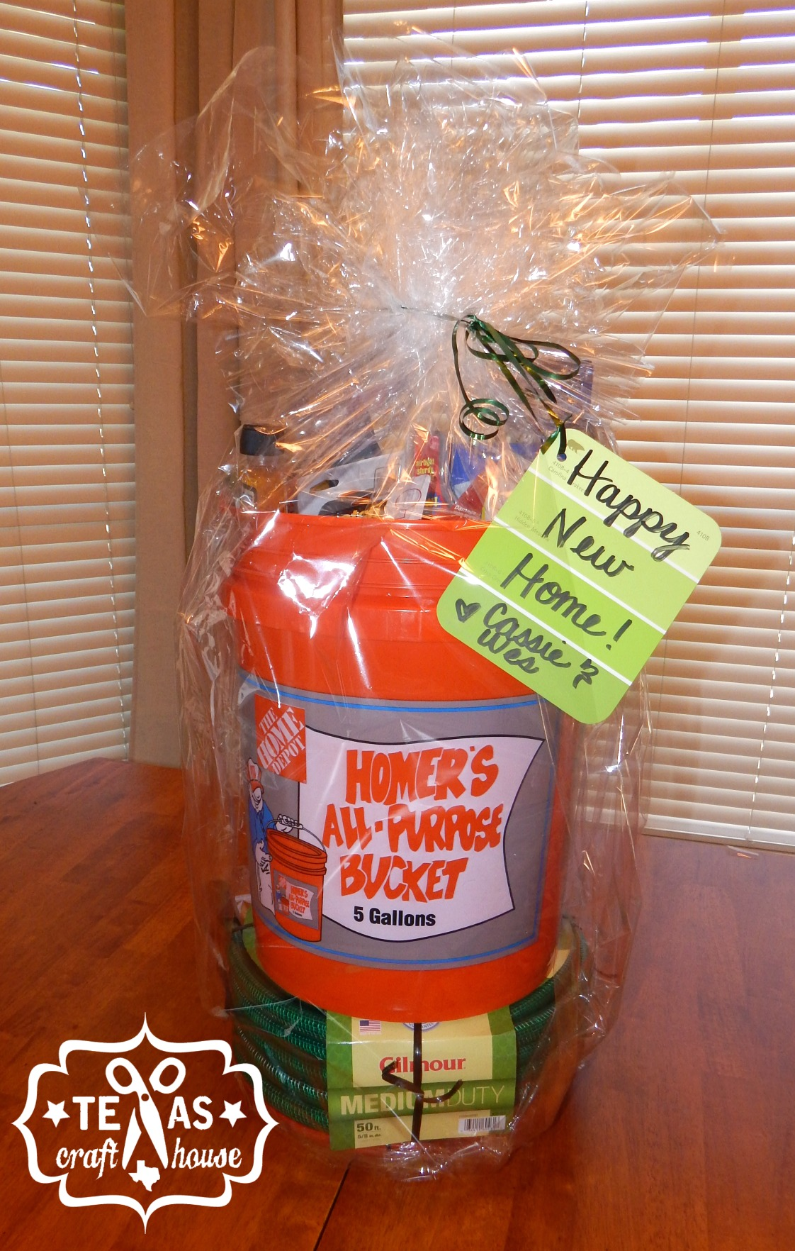 Housewarming Gift For Sister House Warming Bucket Gift Texas Craft House