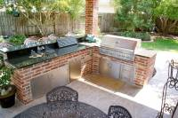Patio Cover and Outdoor Kitchen In Waterside Estates
