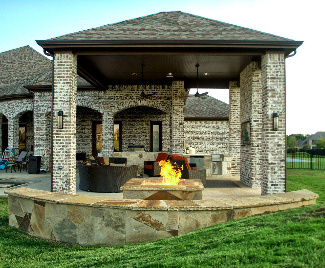 Outdoor Patio Design Pictures Outdoor Living Space Dallas Area Parker Texas Custom