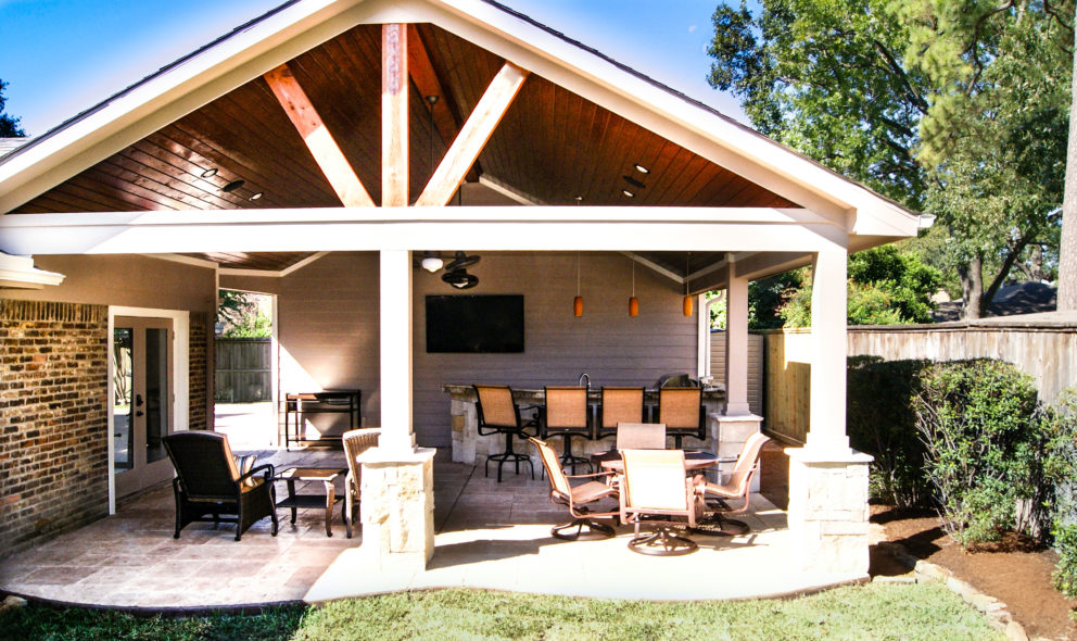 Attached To Garage Archives Texas Custom Patios