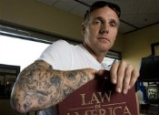 Houston Examiner Photo of Tatooed Judge Kevin Fine