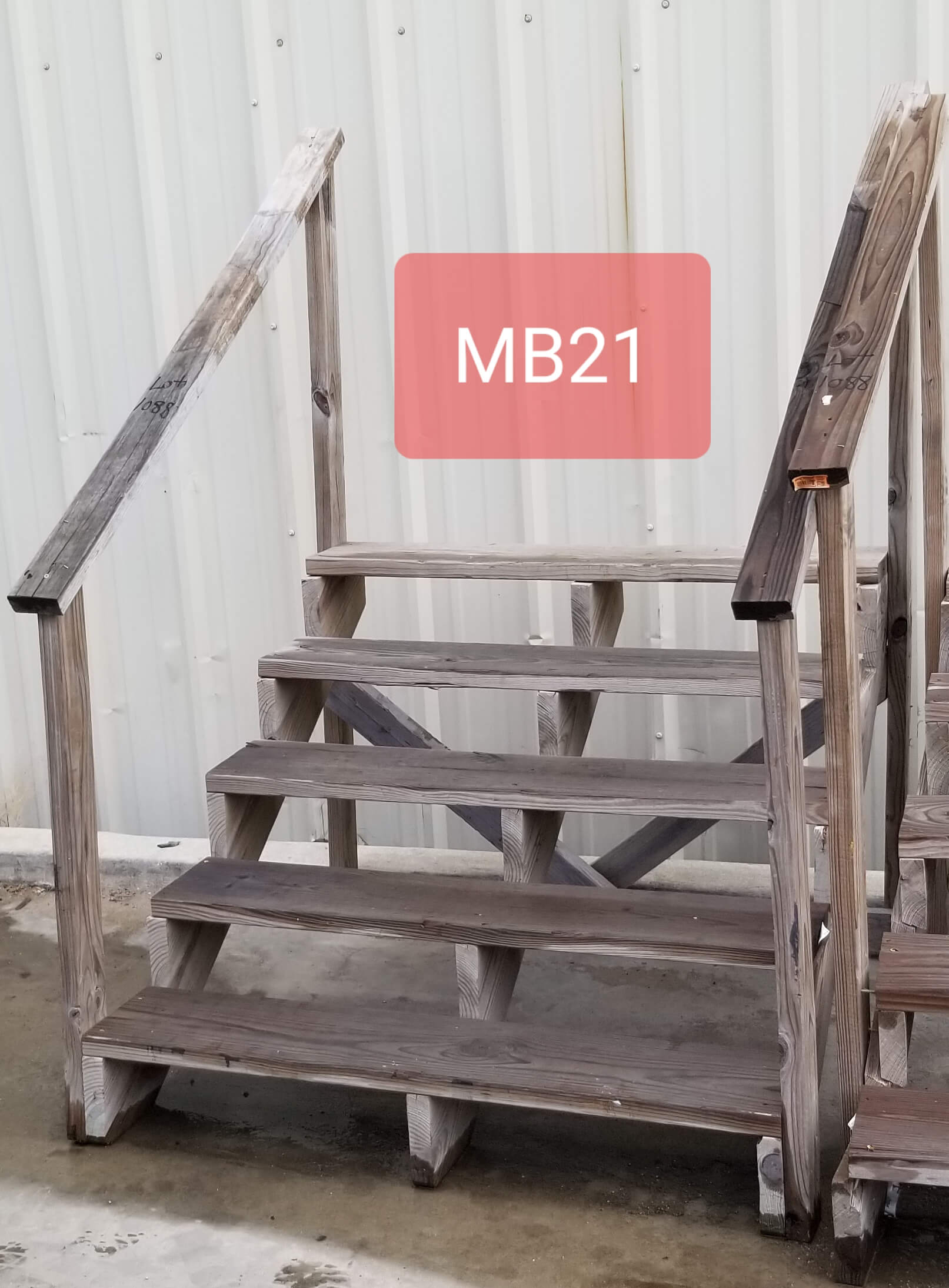 Mb So Mb 21 53 X 35 X 50 Wood Texas Iron And Metal