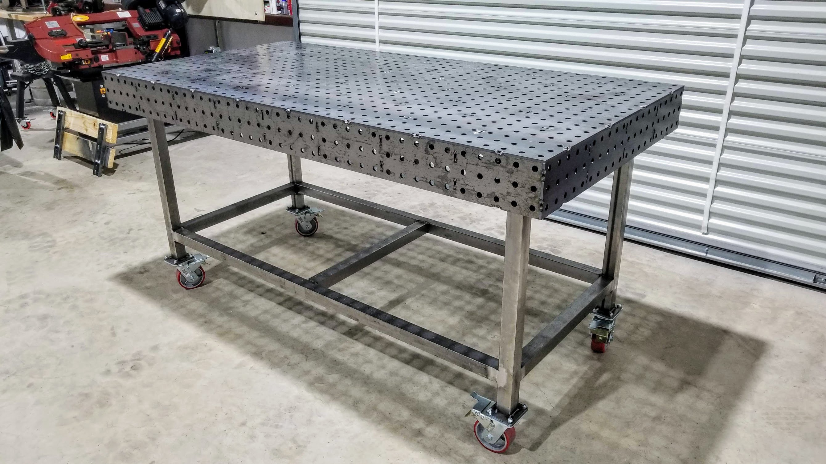 Metal Table Welding Table 40