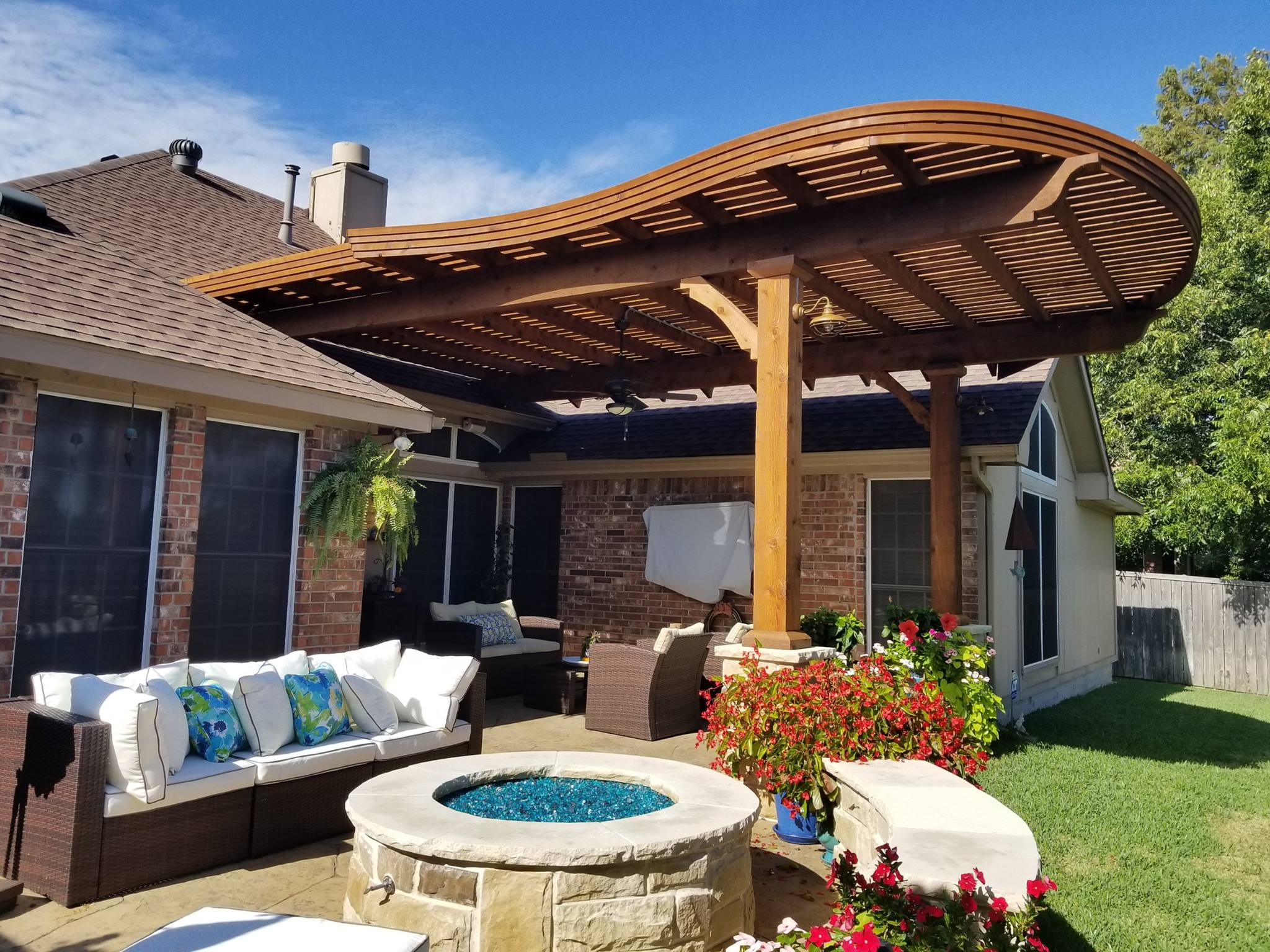 Outdoor Covers Forney Texas Patio Covers Arbors Outdoor Kitchens Texas