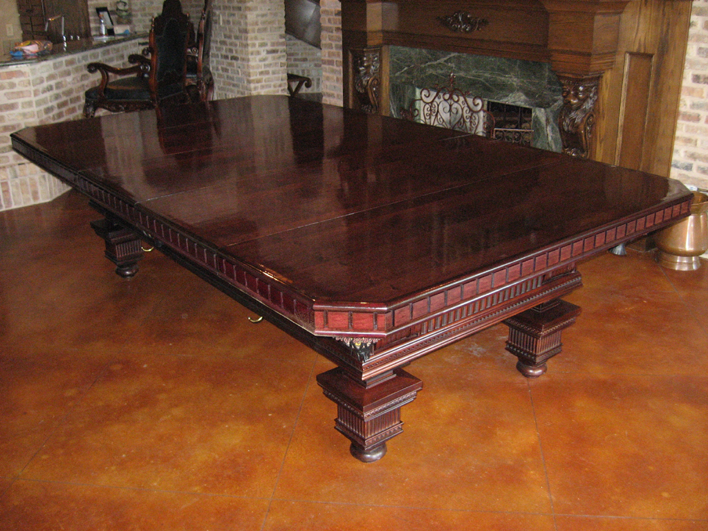 Diy Pool Table Dining Top Pool Table Dining Top