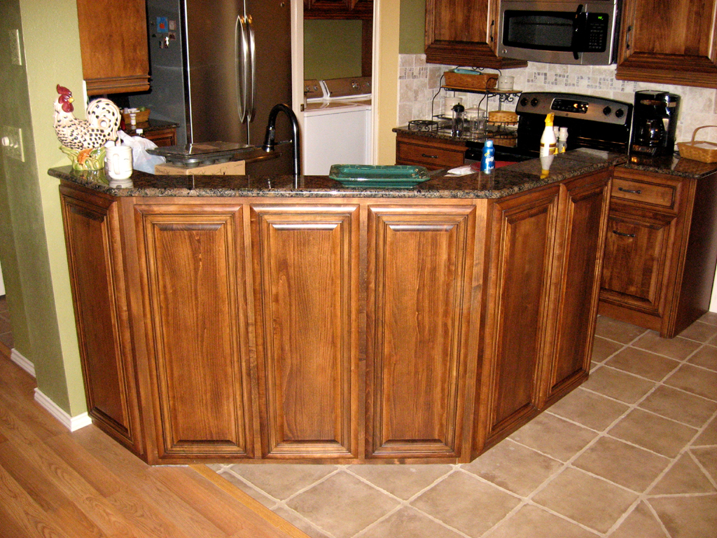 Kitchen Island Depth Coffee Stain And Glaze Kitchen