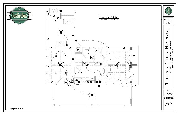 electrical building plan