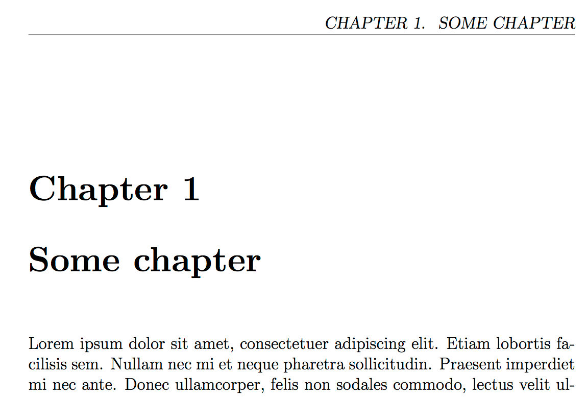 Title Pages Latex Title Page With Header