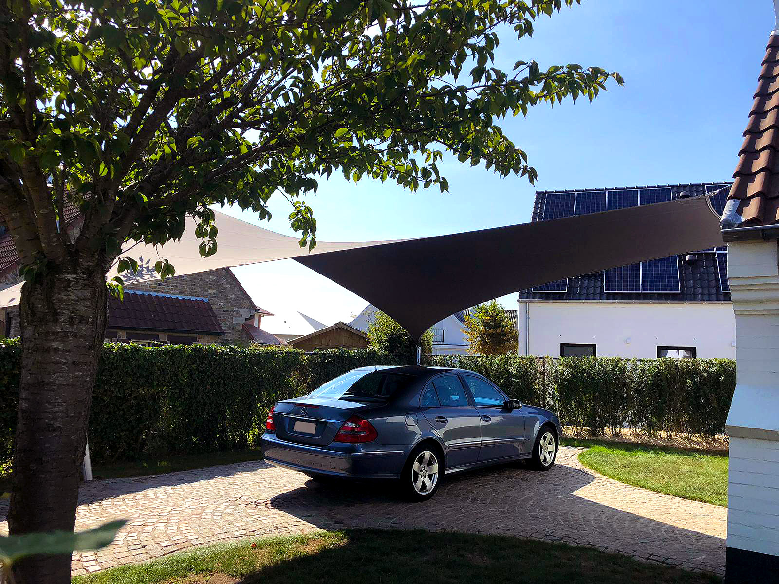 Karpot Protecting Your Car With A Stylish Textile Carport. - Texstyleroofs.com