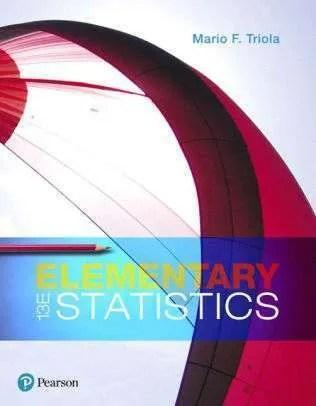 Elementary Statistics / Edition 13by Mario F Triola EBOOK PDF Instant