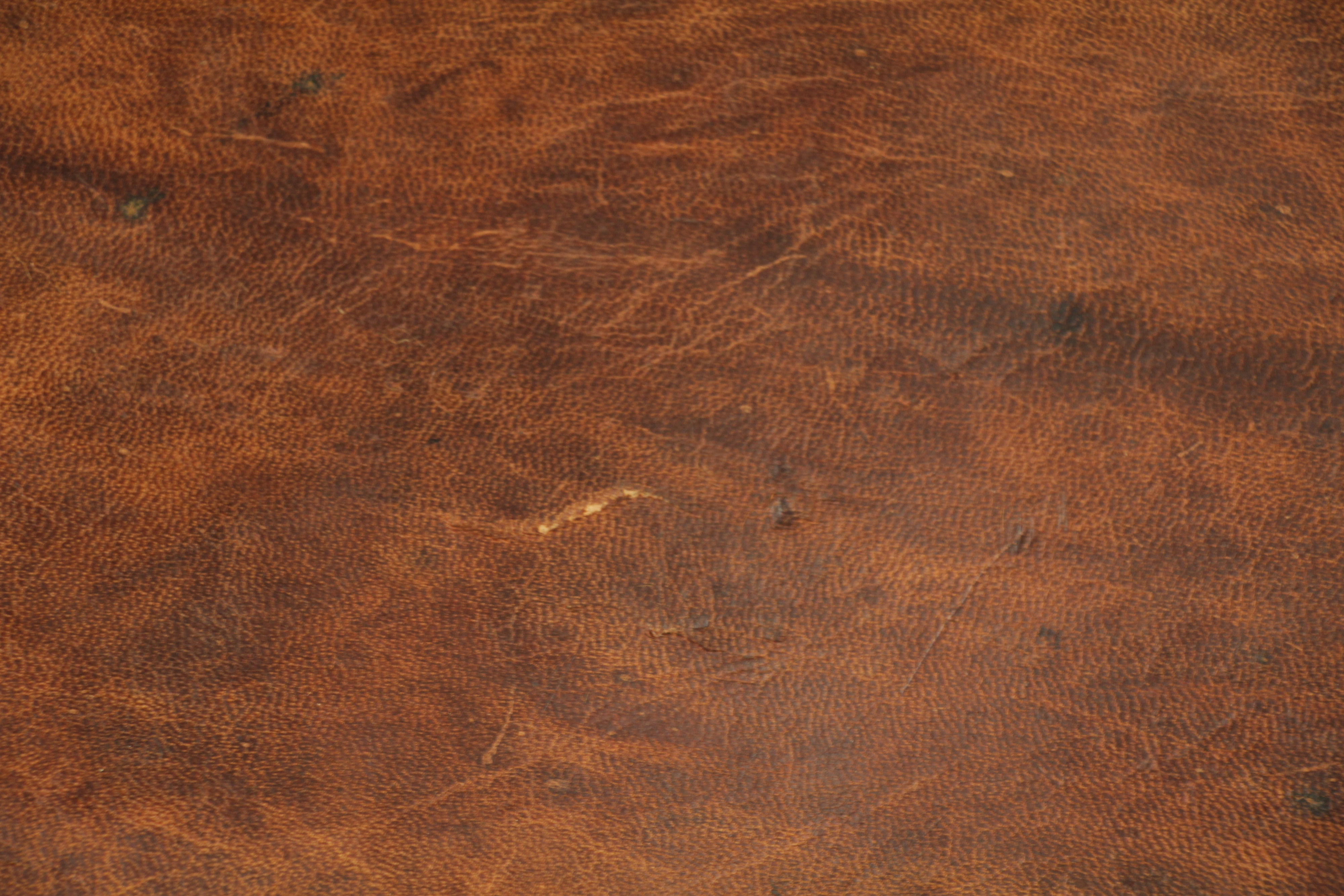 Vintage Leder Brown Leather Texture Pattern Material Stock Photo Old