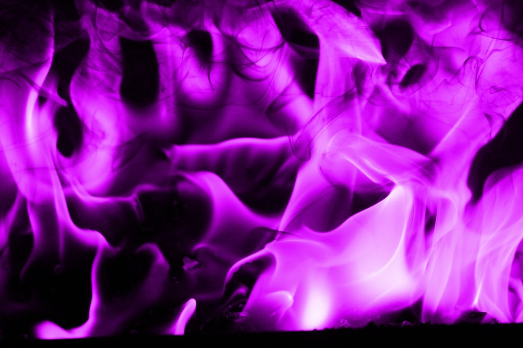 violet flame purple fire texture blazing furnace spirit wallpaper