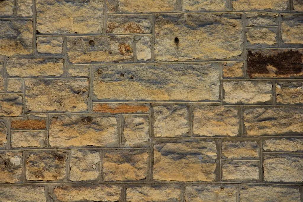 3d Brick Wallpaper For Walls Wall Texture Brick Yellow Block Stone Rough Surface Photo