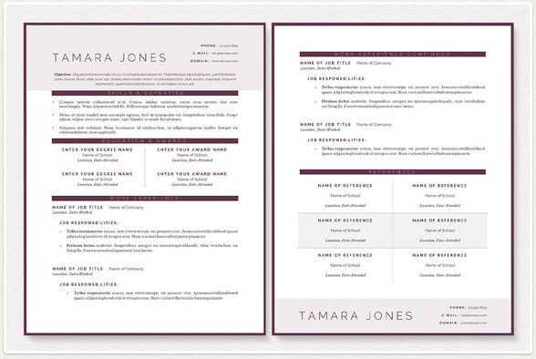 modern resume templates for programmers