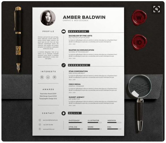 Modern Resume Templates docx to Make Recruiters Awe!