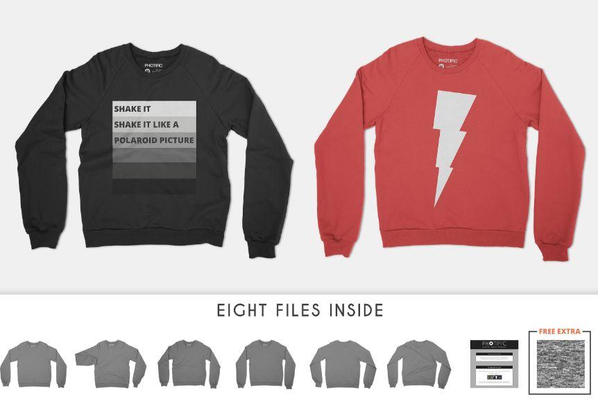 Sweater Mockup Templates- Smart, Ugly, Men\u0027s  Women\u0027s - Texty Cafe