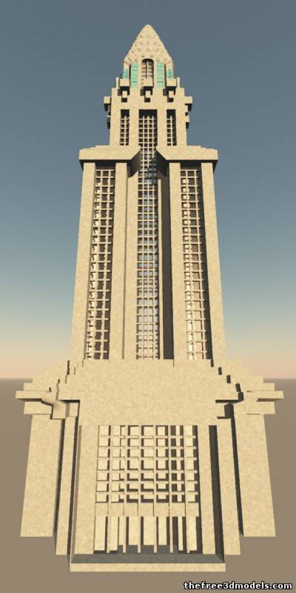 Building 3D Models 3dm - Free 3D Building 3dm download