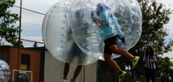 Bubble Football en Tenerife!
