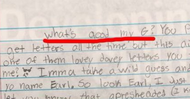 All Hail The Student Who Wrote This Hilarious Letter To A Soldier
