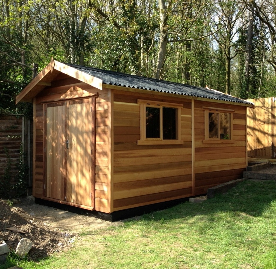 Osb 9mm Timber Workshops | Wooden Workshops - Tunstall Garden