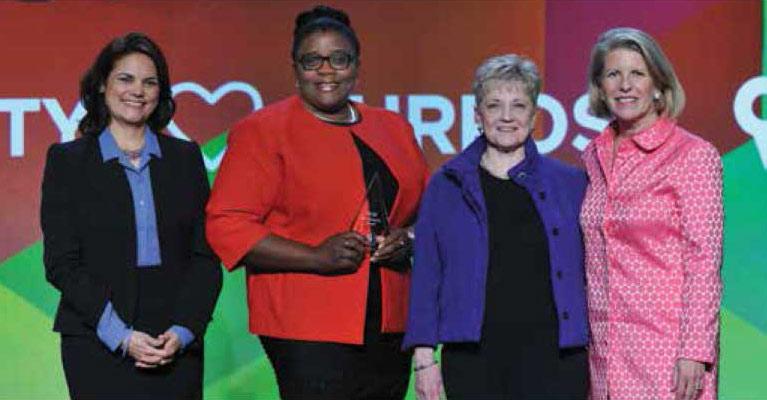 2016 Hud Award for Public Philanthropic Partnerships