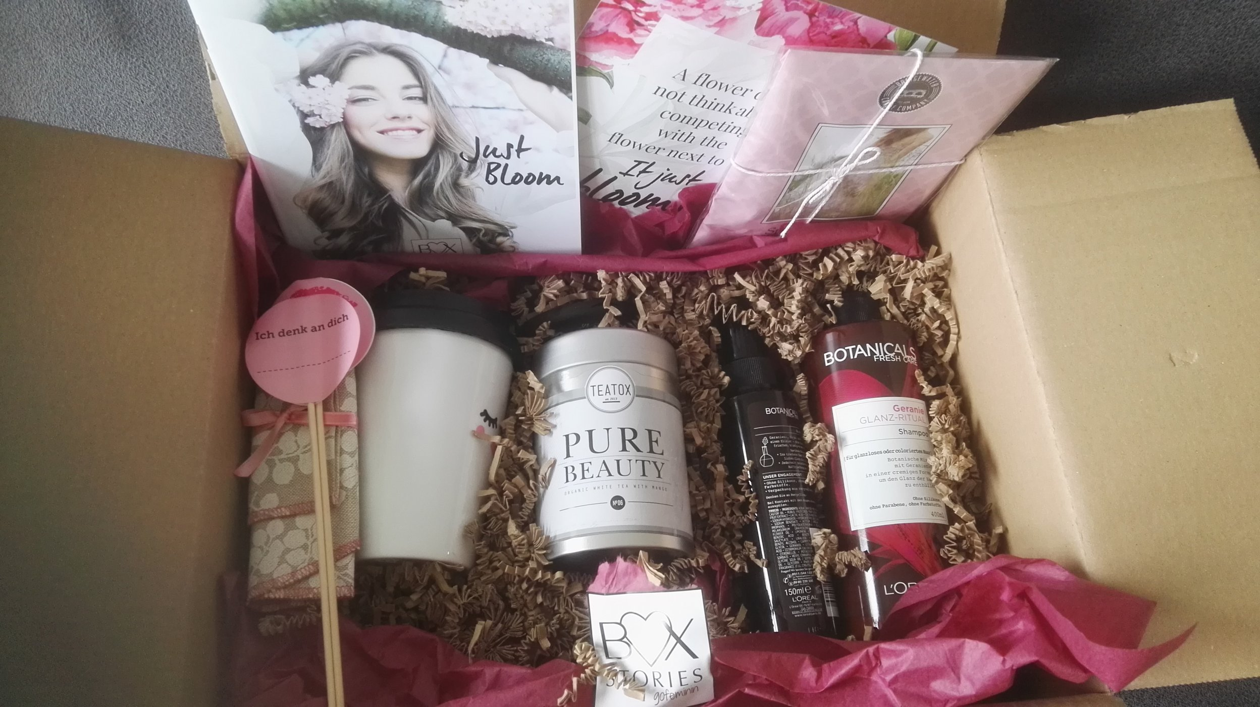 Gofeminin Kleine Küche Box Just Bloom Produktedschungel