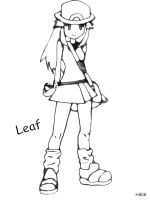Girl Pokemon Trainer Drawing