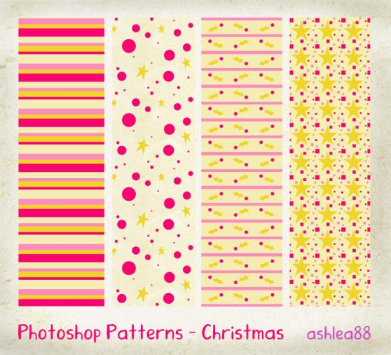 Photoshop Patterns   Christmas by ashzstock 20 Useful Background Pattern Collection