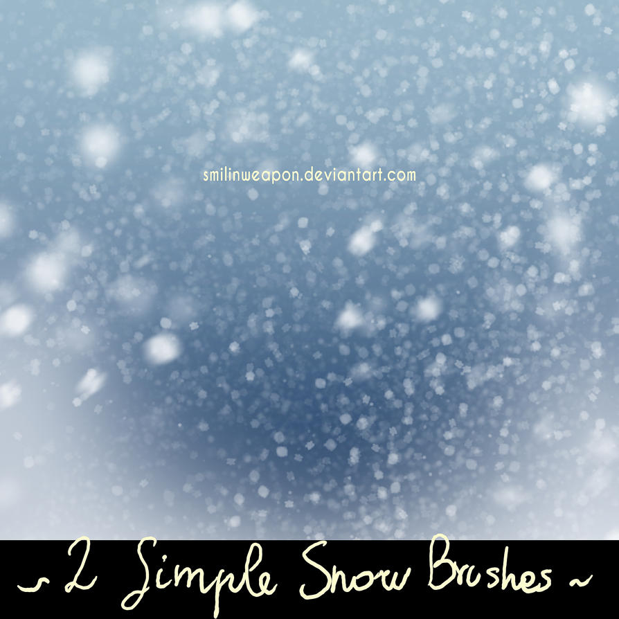 Free Snow Falling Wallpaper Smilinweapon Snow Brushes By Smilinweapon On Deviantart