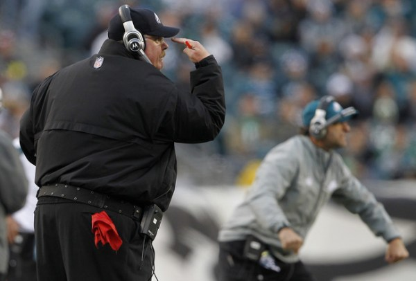 andy reid fired sunday night