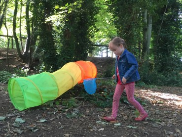 Forest kids - bug hunting!