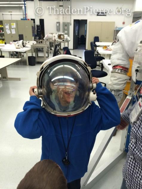 Astronaut Ben!