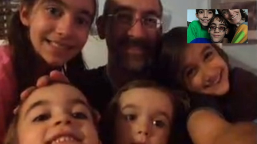 Face timing with the family in Texas.