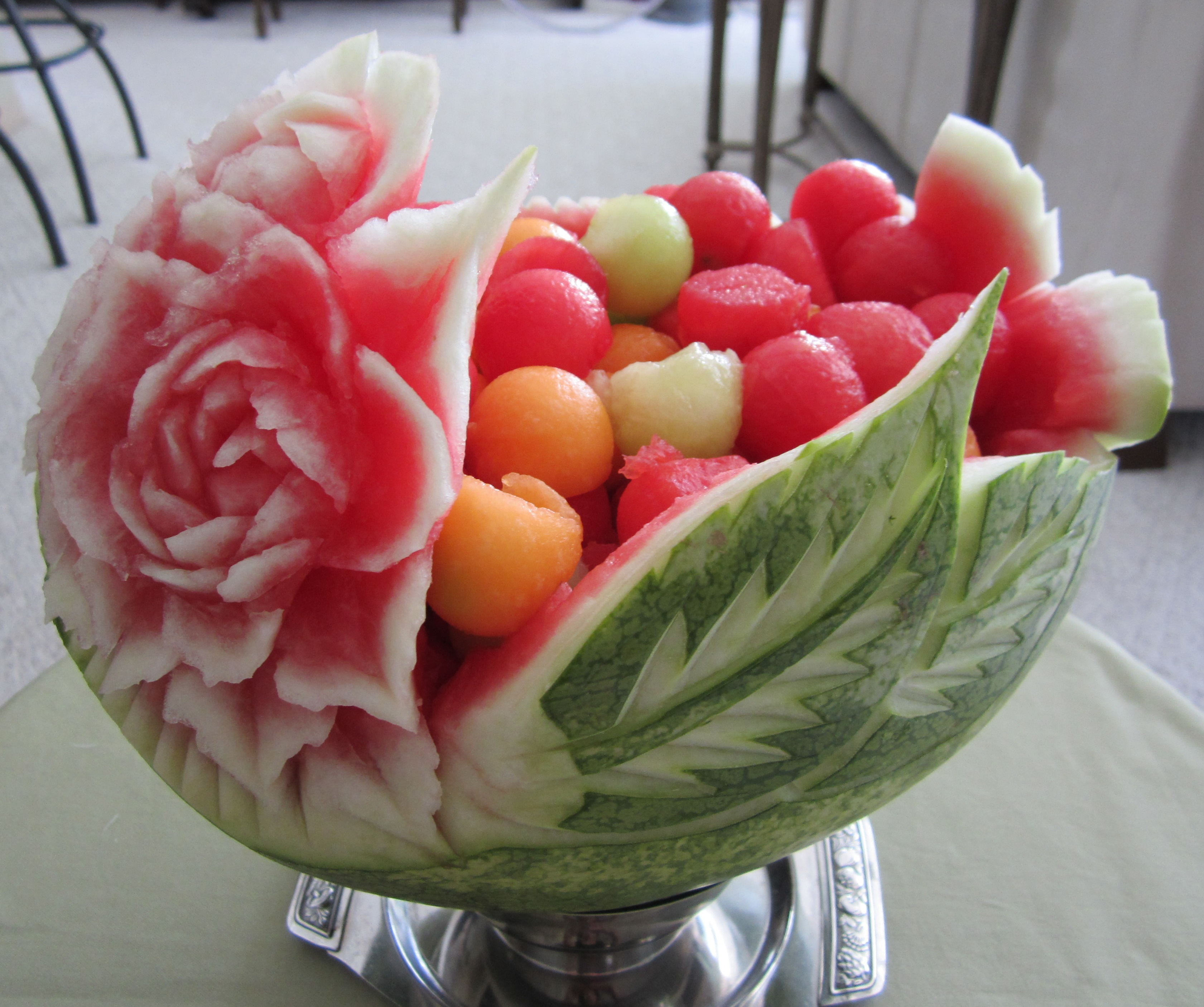 Beautiful Fruit Bowls Fruit Basket Watermelon On Pinterest Watermelon Fruit