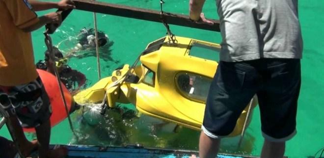 подводный мотоцикл - Пхукет