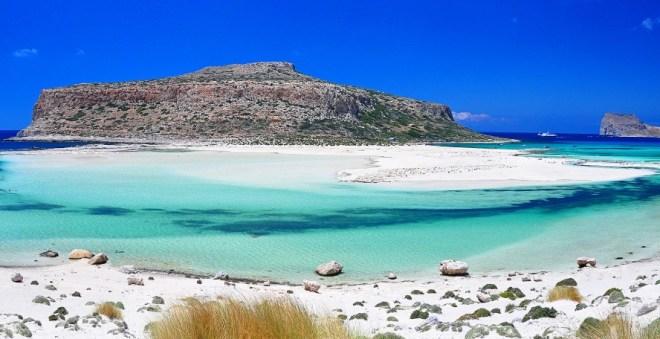Пляжи Греции с белым песком