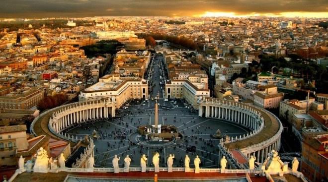 Город Рим в Италии