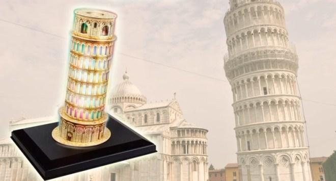 Пизанская башня из Италии
