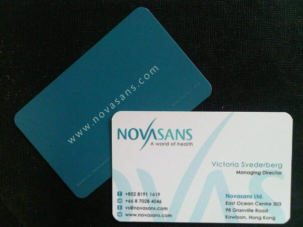 Business Cards Printing Press in Thailand - name card example