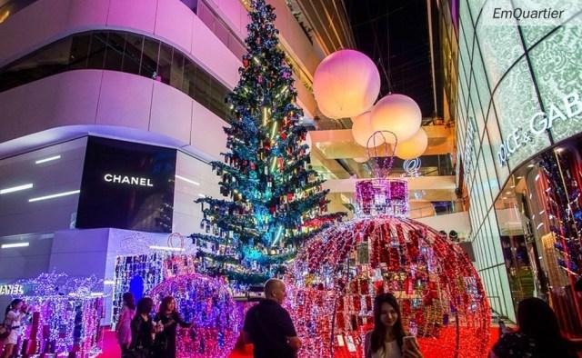Emquartier ThaiSims Christmas
