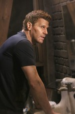 "BONES: David Boreanaz in the ""The Brother in the Basement"" episode of BONES airing Thursday, Oct. 8 (8:00-9:00 PM ET/PT) on FOX. ©2015 Fox Broadcasting Co. Cr: Kevin Estrada/FOX"