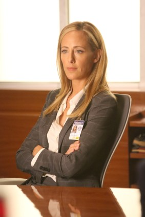 "BONES: Kim Raver in the ""The Brother in the Basement"" episode of BONES airing Thursday, Oct. 8 (8:00-9:00 PM ET/PT) on FOX. ©2015 Fox Broadcasting Co. Cr: Patrick McElhenney/FOX"