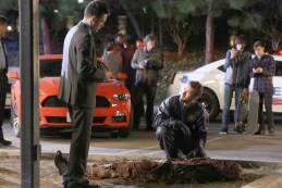 "BONES: L-R: John Boyd and TJ Thyne in the second part of the two-hour ""The Cowboy in the Contest/The Doom in the Boom"" fall finale episode of BONES airing Thursday, Dec. 10 (8:00-10:00 PM ET/PT) on FOX. ©2015 Fox Broadcasting Co. Cr: Patrick McElhenney/FOX"