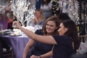 "BONES: L-R: Emily Deschanel and Michela Conlin in the ""The Final Chapter: The Day In The Life"" episode of BONES airing Tuesday, March 21 (9:00-10:00 PM ET/PT) on FOX. ©2017 Fox Broadcasting Co. Cr: Ray Mickshaw/FOX"