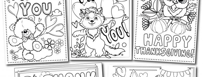 Printable Thank You Cards - Thank You, Me